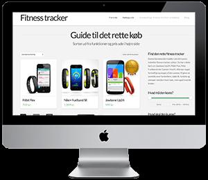 Firma hjemmeside for fitnesstracker.dk