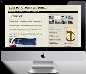 Firma hjemmeside - Reference: JDbyg-firma.dk