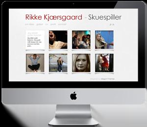 Firma hjemmeside - Reference: RikkeKjaersgaard.dk