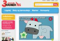Projekter: Boernelegetoej.dk - Magento Webshop