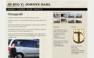 Projekt: Firma hjemmeside til tømrerfirmaet JD-Byg