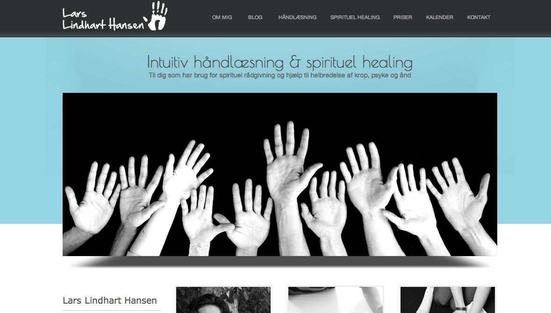 Ad hoc WordPress support: larslindharthansen.dk