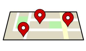 Google maps kort på hjemmeside